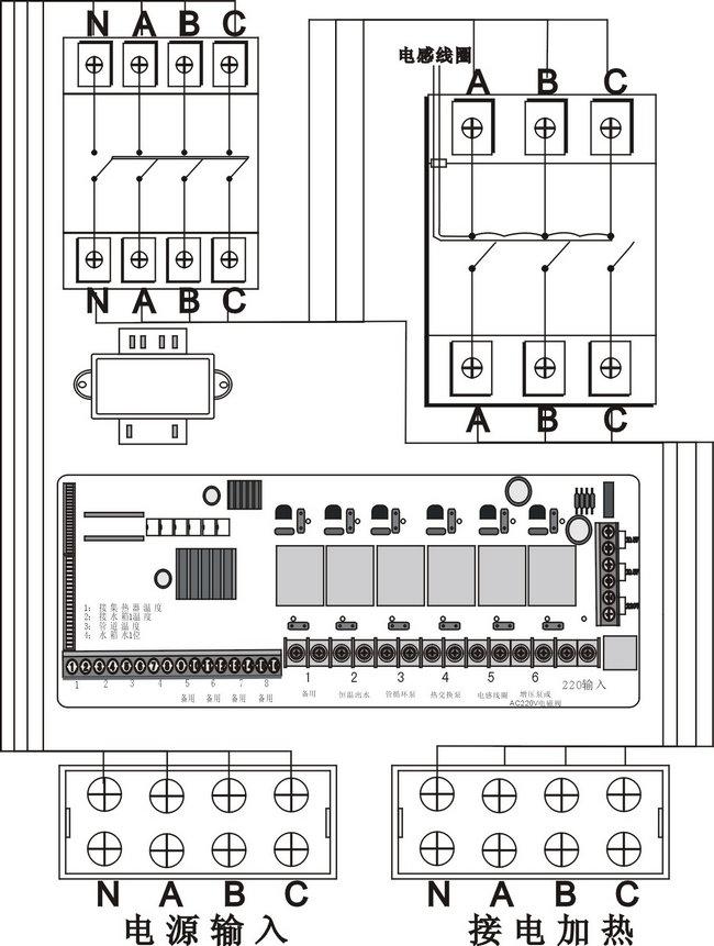 太阳能集热工程控制柜说明书-智恩太阳能控制柜